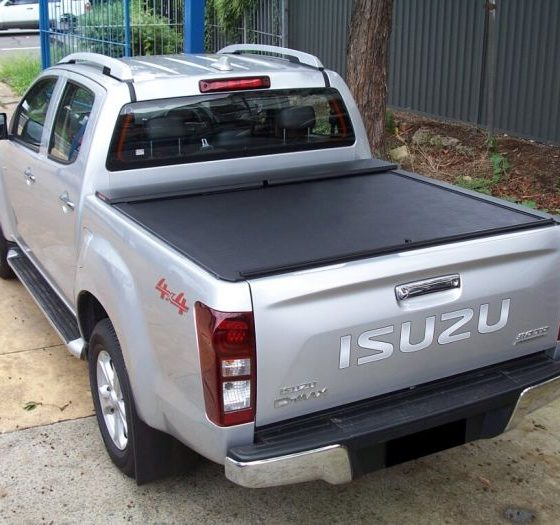 Roll-N-Lock Tonneau Cover for ISUZU D-Max TF 4dr Ute Dual Cab 06/12 On TheUTEShop Products