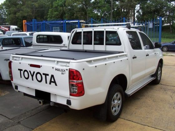 Roll-N-Lock Tonneau Cover for TOYOTA Hilux 4dr Ute Dual Cab 04/05 to 09/15 TheUTEShop Products