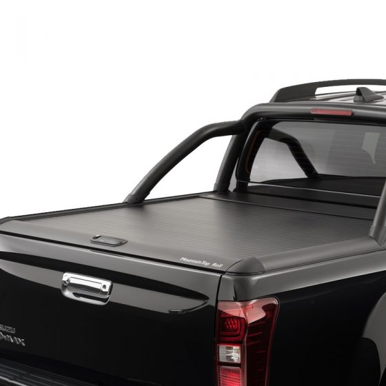 DMAX MOUNTAIN TOP. ROLL TOP LID. BLACK TheUTEShop Products