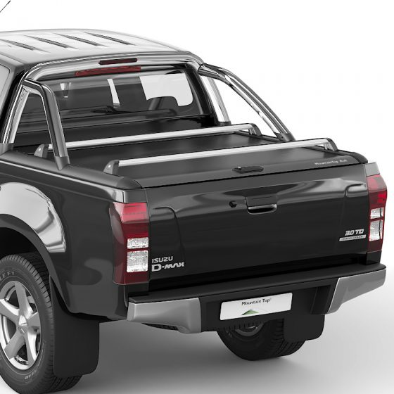 DMAX MOUNTAIN TOP. ROLL TOP LID. SILVER TheUTEShop Products