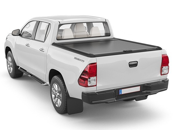 HILUX SR5 MOUNTAIN TOP. ROLL TOP LID. BLACK TheUTEShop Products