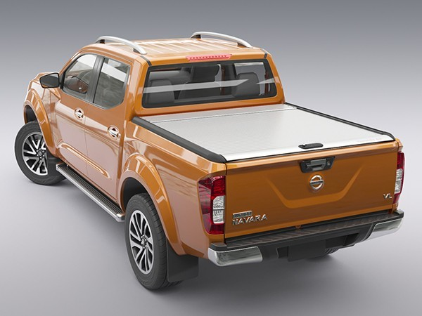NAVARA NP300 MOUNTAIN TOP ROLLTOP DC SILVER TheUTEShop Products