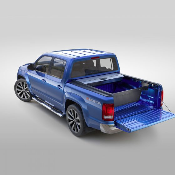 AMAROK MOUNTAIN TOP. ROLL TOP LID. BLACK TheUTEShop Products