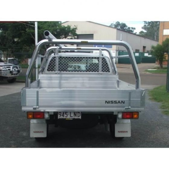 Nissan Navara Trayback Style Racks with Welded Support Bars and Loops TheUTEShop Products