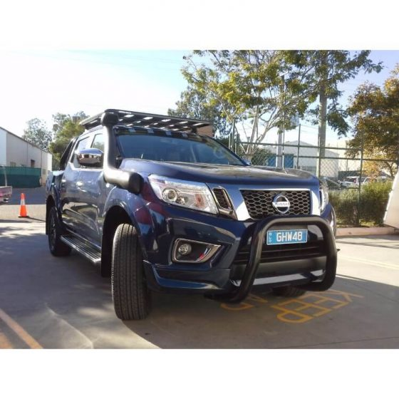 Nissan D40 Navara 3 Bend Nudgebar P/Coated Black TheUTEShop Products