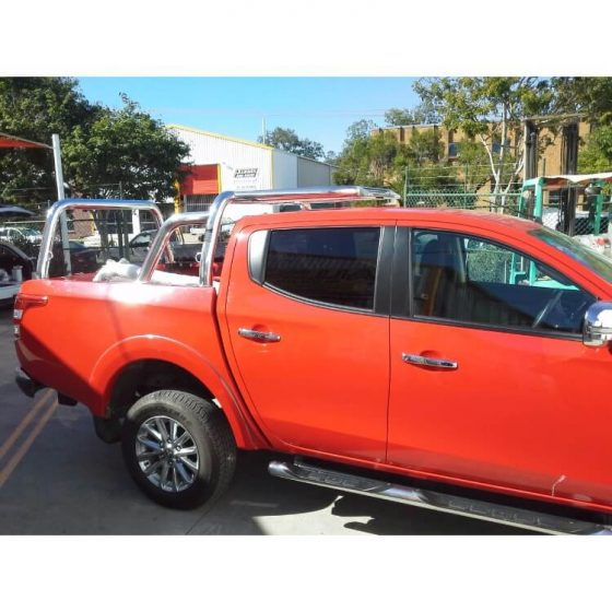 Mitsubishi MQ Triton Style Rack with Welded Tie Downs TheUTEShop Products