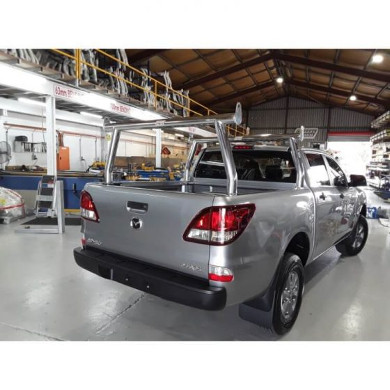 2018 Mazda BT50 Polished Trade Racks TheUTEShop Products