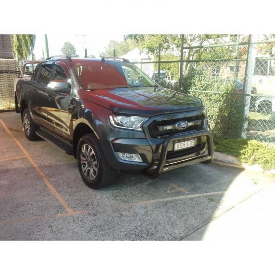 2018 Ford Ranger P/Coated Black 3 Bend Nudgebar Tech Pack TheUTEShop Products