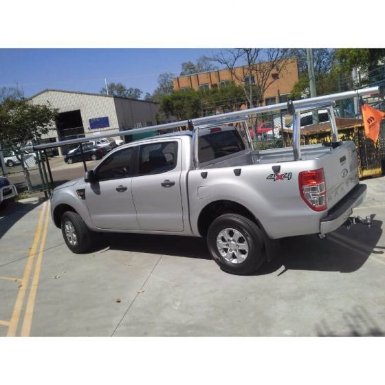 Ford Ranger Polished Front & Rear Trade Racks TheUTEShop Products