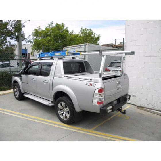 Ford Ranger Wildtrak Rear Floor Mount Trade Rack TheUTEShop Products