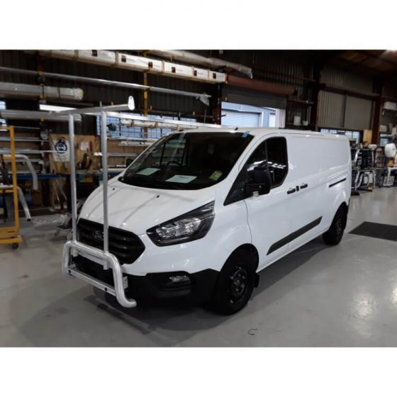 2018 Ford Transit Custom Nudgebar & Hrack Set with Sensors TheUTEShop Products