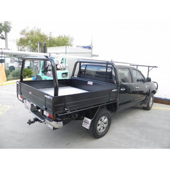 P/Coated Black Style Racks with Welded Loops suitable for use with Toyota Hilux TheUTEShop Products