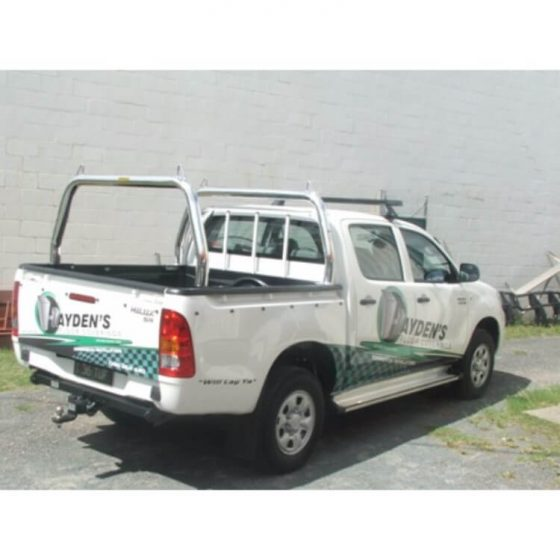 Style Racks with Welded Loops suitable for use with Toyota Hilux TheUTEShop Products