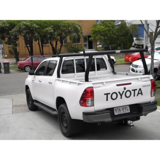 P/Coated Black Trade Rack Set suitable for use with Toyota SR Hilux TheUTEShop Products