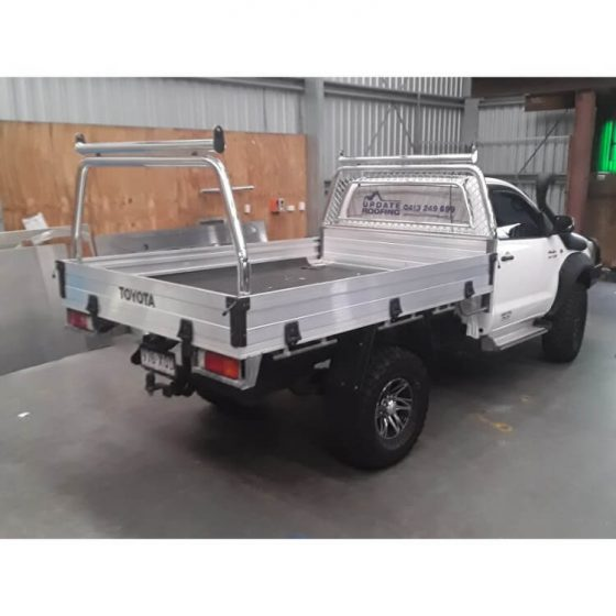 Style Rack Set with Adaptor Racks & Custom Cargo Barrier suitable for use with Toyota Hilux TheUTEShop Products