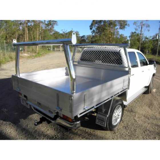 Tray Back Trade Rack Set suitable for use with Toyota SR5 Hilux TheUTEShop Products