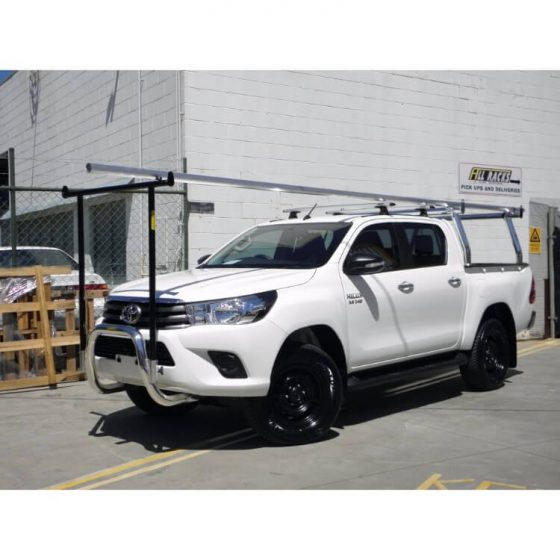 Nudgebar & Hrack Set compatible with Toyota Hilux TheUTEShop Products