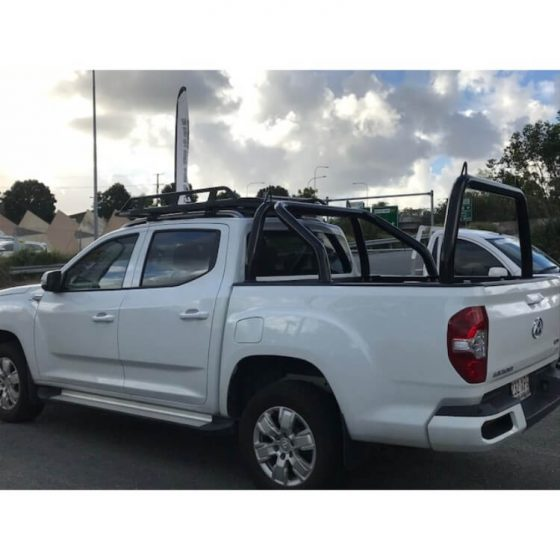 LDV P/Coated Black Sports Bar & Rear Rack TheUTEShop Products
