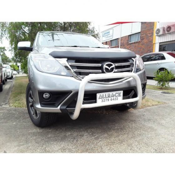 2018 Mazda BT50 Brush FInish Series II Nudge bar TheUTEShop Products