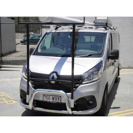 Renault Trafic Nudgebar with Custom Hrack TheUTEShop Products