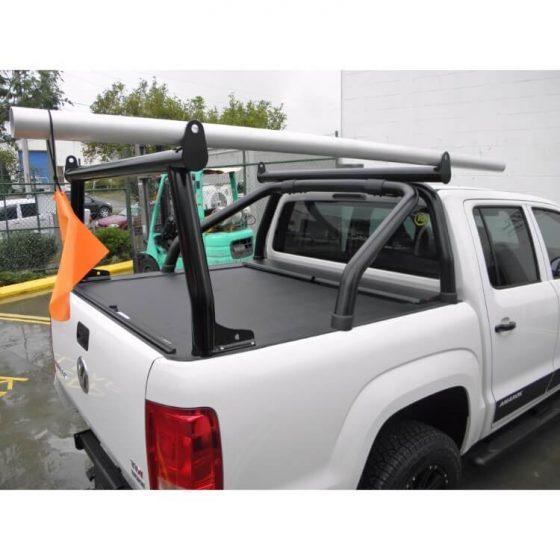 VW Amarok Adaptor Rack Set P/Coated Black TheUTEShop Products