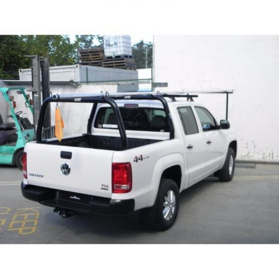 VW Amarok Style Rack with Welded Loops P/Coated Black TheUTEShop Products