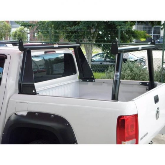 VW Amarok Trade Racks with Front Flares P/Coated Black TheUTEShop Products