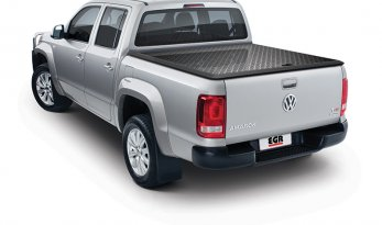 VW Amarok Dual Cab Load Shield - BLACK TheUTEShop Products