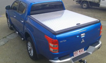 Mitsubishi Triton MQ/MR Double Cab Load Shield - Silver TheUTEShop Products