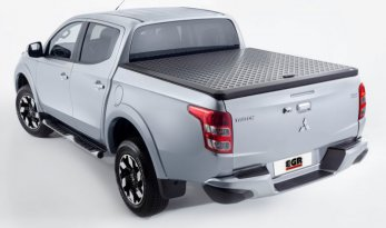 Mitsubishi Triton MQ/MR Double Cab Load Shield - Black TheUTEShop Products