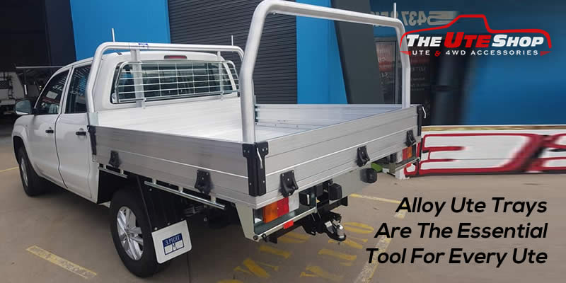 Alloy Ute Trays Are The Essential Tool For Every Ute